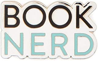 Out of Print Literary and Book-Themed Enamel Pin Set for Book Lovers, Readers, and Bibliophiles