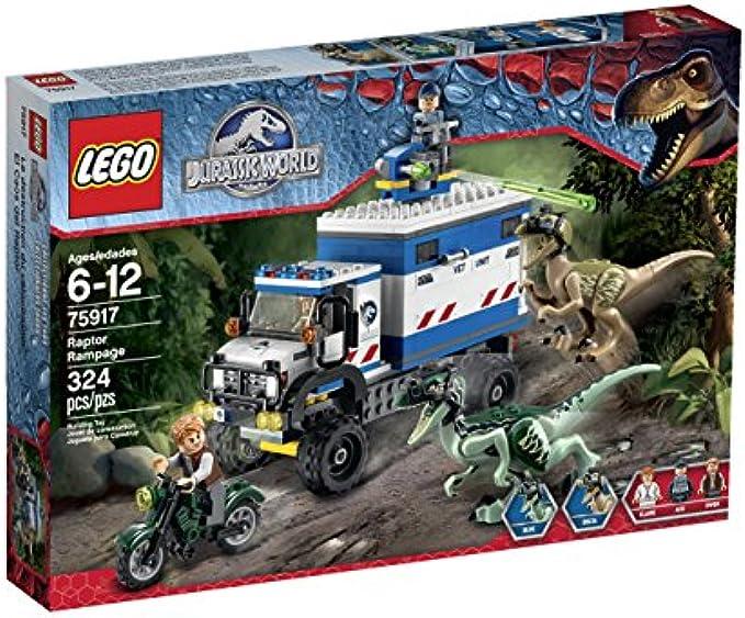 LEGO Jurassic World 75917 Raptor Rampage