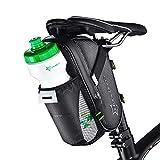 ROCKBROS(ロックブロス)サドルバッグ 自転車 ボトルホルダー 防水 反射材付き 1L 取り付け簡単 サイクリング ロードバイク MTB クロスバイク