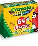 Best Crayon Sharpeners - CRAYOLA Crayon/Sharpener, 64 Count (52-0064) Review