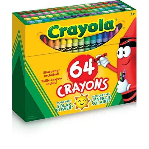 Crayola - Pastelli colorati, 64 pz.
