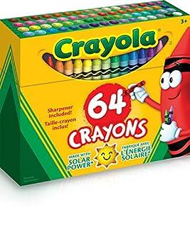 CRAYOLA Crayon/Sharpener, 64 Count (52-0064) (B00004YO15) | Amazon price tracker / tracking, Amazon price history charts, Amazon price watches, Amazon price drop alerts