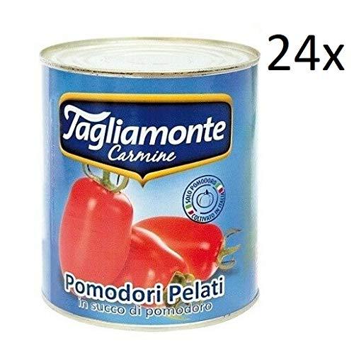 24x TAGLIAMONTE Pomodori Pelati geschälte Tomaten sauce aus Italien dose 800g