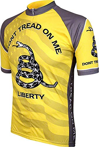 Don't Tread on Me Mens Cycling Jersey bike bicycle