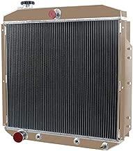 OzCoolingParts 4 Row Core All Aluminum Radiator for 1953-1956 54 55 Ford F-100 F-250 F-350 Pickup Truck L6 V8