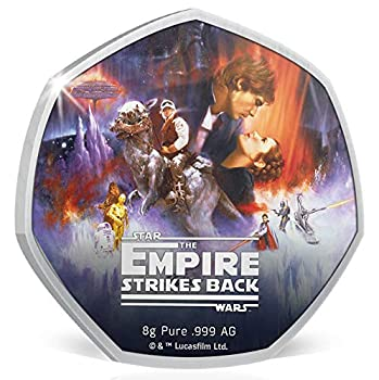 2020 CK Modern Commemorative PowerCoin Empire Strikes Back Star Wars 40th Anniversary Silver Coin 50 Cents Cook Islands 2020 Proof