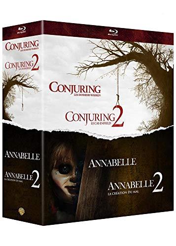 Warren - Collection de 4 films - Annabelle et Conjuring [Francia] [Blu-ray]