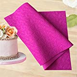 AUSUKY Large Impression Cake Lace Mats 56.7x37.7 cm Silicone Lace New Decorate Mould