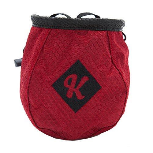 Café Kraft Sac à magnésie avec ceinture Rouge