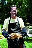 Weber Grillschürze mit Stickerei 6533 schwarz Grillschürze mit großen Taschen für Utensilien - 5