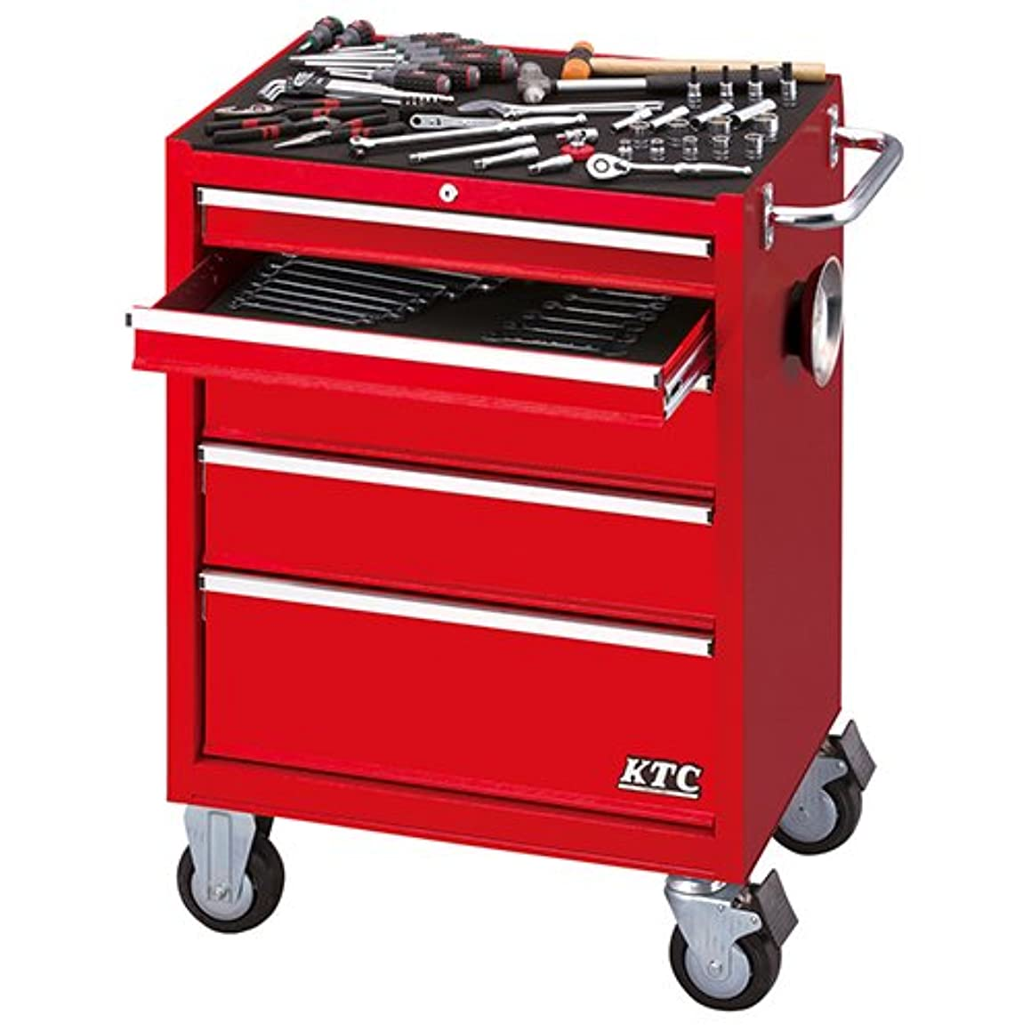 ハイランド茎オプショナル京都機械工具 KTC SK18 工具セット(SKX3805/赤) KTC 9.5sq./68点組 SK36818RX