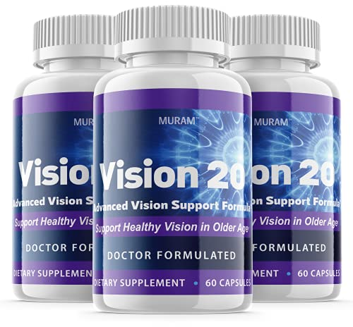(3 Pack) Official Vision 20 - Advanced Formula, 3 Bottle Package