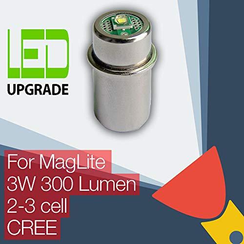 LED-Wandlungs/-Upgrade-Birne für MagLite-Taschenlampen, 2D-/2C-, 3D-/3C-Zelle, CREE, XP-G2