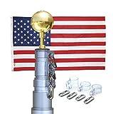 American Elite Telescoping Flagpole Kit (Anodized...