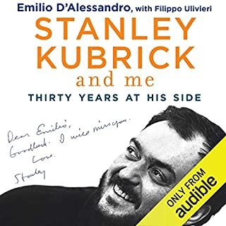 Stanley Kubrick and Me cover art