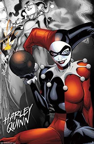 51gO+CICcNL Harley Quinn DC Comics Posters