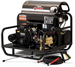 Shark SSG-503537E/G 3,500 PSI 4.7 GPM Honda Gas Powered Hot Water Industrial Series Pressure Washer