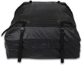 TOOLUCK Cofre Techo Coche, Bolsa de Techo Plegable Impermeable, Cofre de Techo Adecuada para Viajes y Todos los Vehículos ...