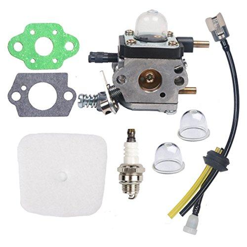 OxoxO - Filter-Vergaser C1U-K54A Luftfilter und Kraftstoff-Zündkerzenset für 2-Takt-Mantis (7222, 7222E, 7222M, 7225, 7230, 7234, 7240, 7920, 7924) - Fräser/Grubber