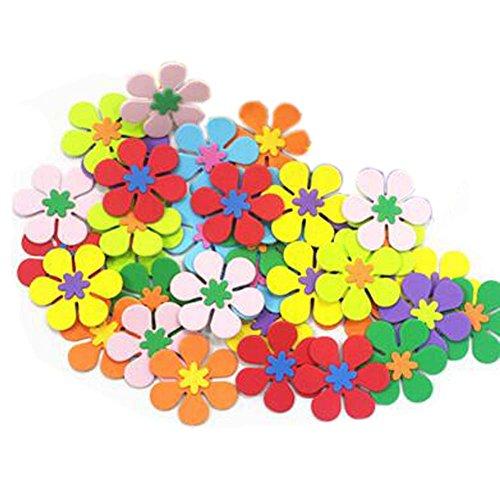 160 pièces Décoration créative Décoration pour enfants Sticker mur 3D Jardin maternelle
