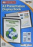 Tiger Display Book - Libro de presentación (A3, 40 hojas)