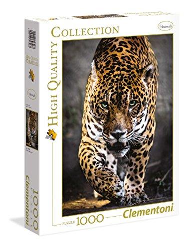 Clementoni- Wildlife Puzzle, 100 Pezzi, Multicolore, 1000, 39326