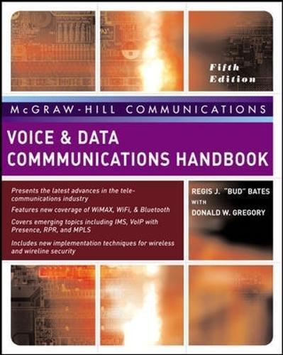 Voice & Data Communications Handbook