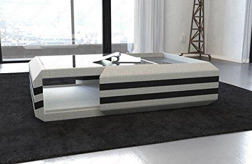 Design Table basse Ravenna avec fonction PULL-OUT et en option éclairage LED