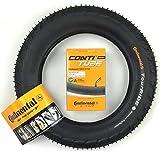 Juego de Neumático Continental 12 1/2 X 2 1/4 (62-203) Neumático y Manguera 45° Av