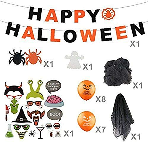 SSITG Halloween Décoration pour Halloween avec Plus DE 30 pièces