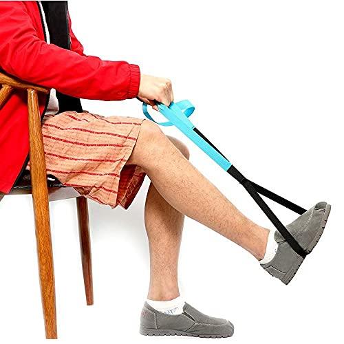 Bein Gurt Oberschenkelheber Riemen Beinheber FußHeber Gurt Handgriff Schleife- äLtere MobilitäTshilfen ZubehöR für Rollstuhl, Bett, Auto