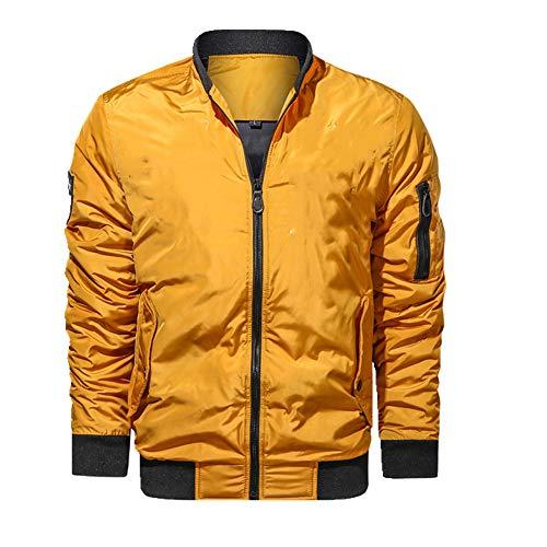N\P La primavera y el otoño de los hombres chaqueta casual cremallera chaqueta de béisbol al aire libre impermeable cortavientos