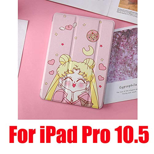 SMZNXF Tablet PC case,Cute Cases For iPad 2 3 4 Mini 1 2 3 4 5 Air 1 2 10.5 Pro 9.7 10.5 New Soft Leather Filp Tablet PC Cover,Acting Cute Pro 10.5