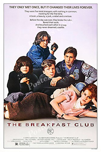 PremiumPrints Posters USA The Breakfast Club Movie Poster Glossy Finish - MOV952 (24
