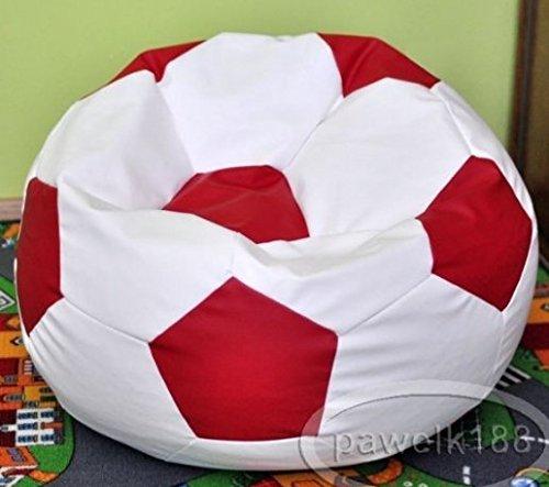 Egato Puff Puf Puf Cab Sillón Saco de sintética, simipelle Balón Fútbol Niño tifoso