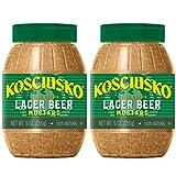 Plochman's Kosciusko Premium Beer Mustard 9 Ounce (2 Pack)