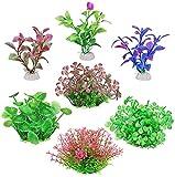 WANGSHAOFENG ArtificialAquanchantplants, 7PackPlackLifeLikeVividlySeaweedaQuAriumDecoratoriaAccessorsKitforsmallfi Planta Acuario (Size : Small)