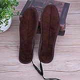 Zhouzl Accessoires de Sport 2 Paires USB Sèche-Chaussures Semelles...