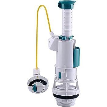 Kibath L361233 Mecanismo flotador universal para cisterna, Blanco: Amazon.es: Bricolaje y herramientas