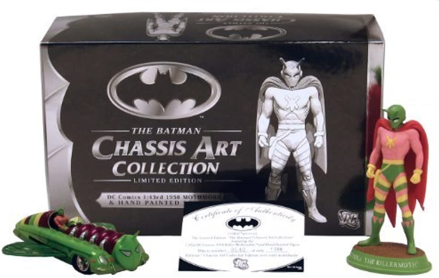 Batman Chassis Art Collection 1950 Mothmobile Figure by Master Replicas