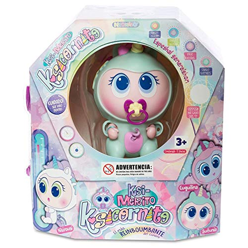 Neonate Distroller Baby Doll Unicorn Ksimerito Suitunia Ksicornito Menta Mint by Distroller Limited Especial Instructions in Spanish