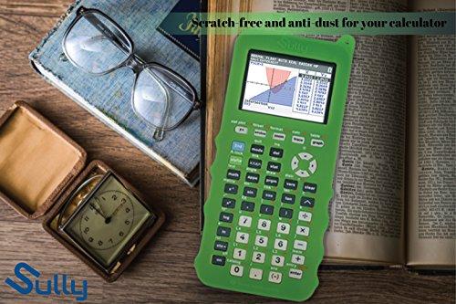 Silicone Case for Ti 84 Plus CE Calculator (Green) - Cover for Texas Instruments Ti-84 Graphing Calculator - Silicon Skin for Ti84 Plus - Protective & Anti-Scretch Cases - Ti 84 Accessories by Sully Photo #6