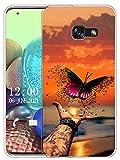 Sunrive Coque Compatible avec Samsung Galaxy A3 (2017), Silicone Étui Housse Protecteur Souple Gel...