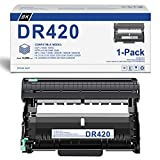 [Black,1-Pack] Compatible DR-420 Drum Unit Replacement for Brother DR420 DCP-7060D DCP-7065D Intellifax 2840 Intellifax 2940 HL-2270DW HL-2275DW HL-2280DW Printer Drum Unit