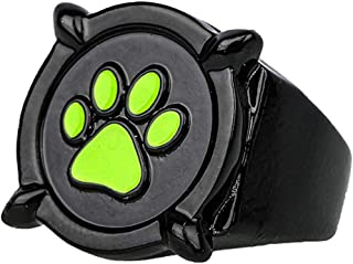 Miraculous Ladybug Cat Noir Black Ring Ring Deluxe Zinc Alloy Cosplay Accessory