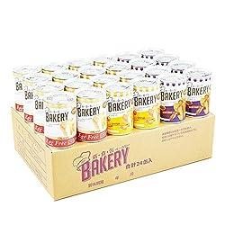 新食缶ベーカリー 24缶セット 賞味期限5年 しっとり食感の缶詰ソフトパン (2種)
