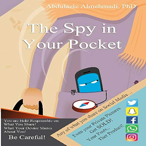 The Spy in Your Pocket audiobook cover art