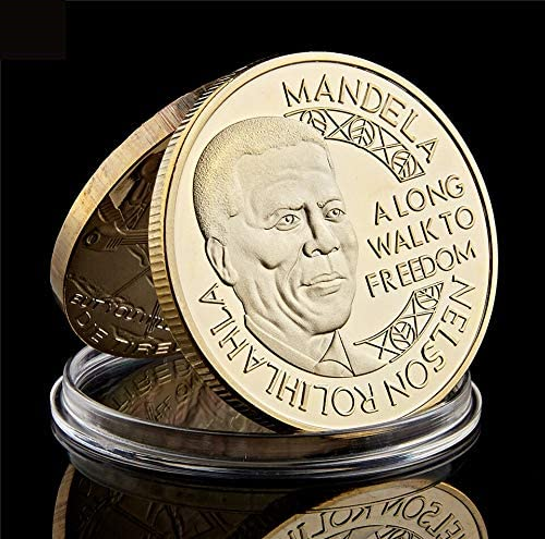The Over item handling ☆ Nobel Peace Prize South Coin Courier shipping free Africa President Gold