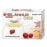 Melanurcress – Elisir para el cabello – 30 cápsulas de 1 mes – con auténtico extracto de manzana Annurca aliada de la salud del cabello   100% alta calidad