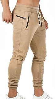 Pantaloni Sportivi da Uomo Pantaloni da Jogging Sportivo Fitness Pantaloni di Tuta Slim Fit Pantaloni per Il Tempo Libero ...